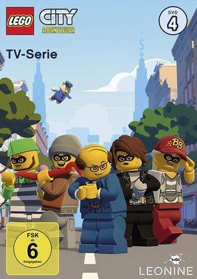 """Verbrechen und Polizeiarbeit: Wir verlosen die neuen """"Lego City Abenteuer"""" Folgen mit DVD 4 sowie den Hörspielen 7 und 8"""