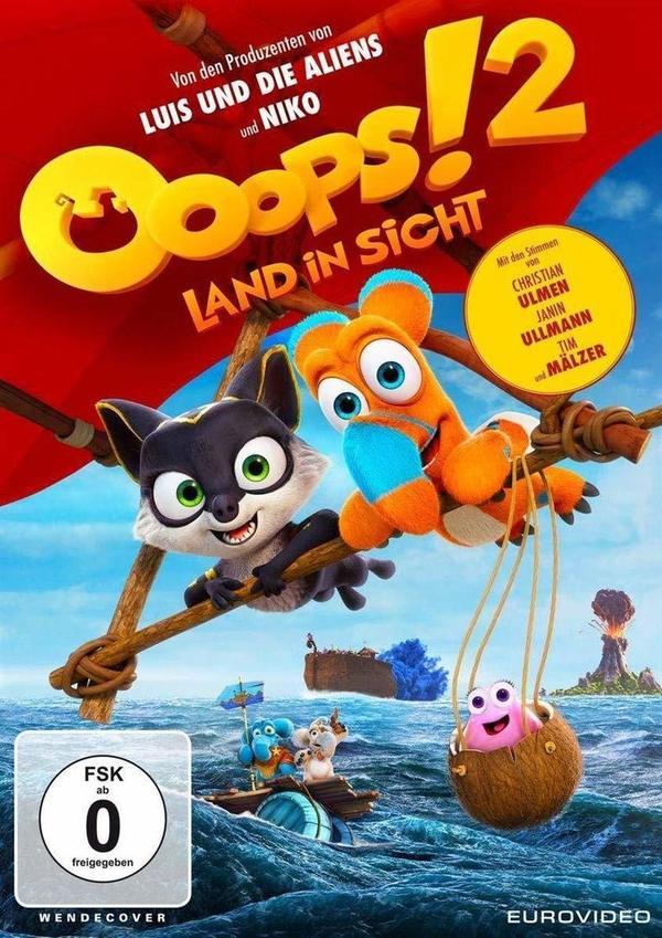 """Volle Kraft voraus: Wir verlosen den Animationsspaß """"Ooops! 2 - Land in Sicht"""" auf DVD oder BD"""