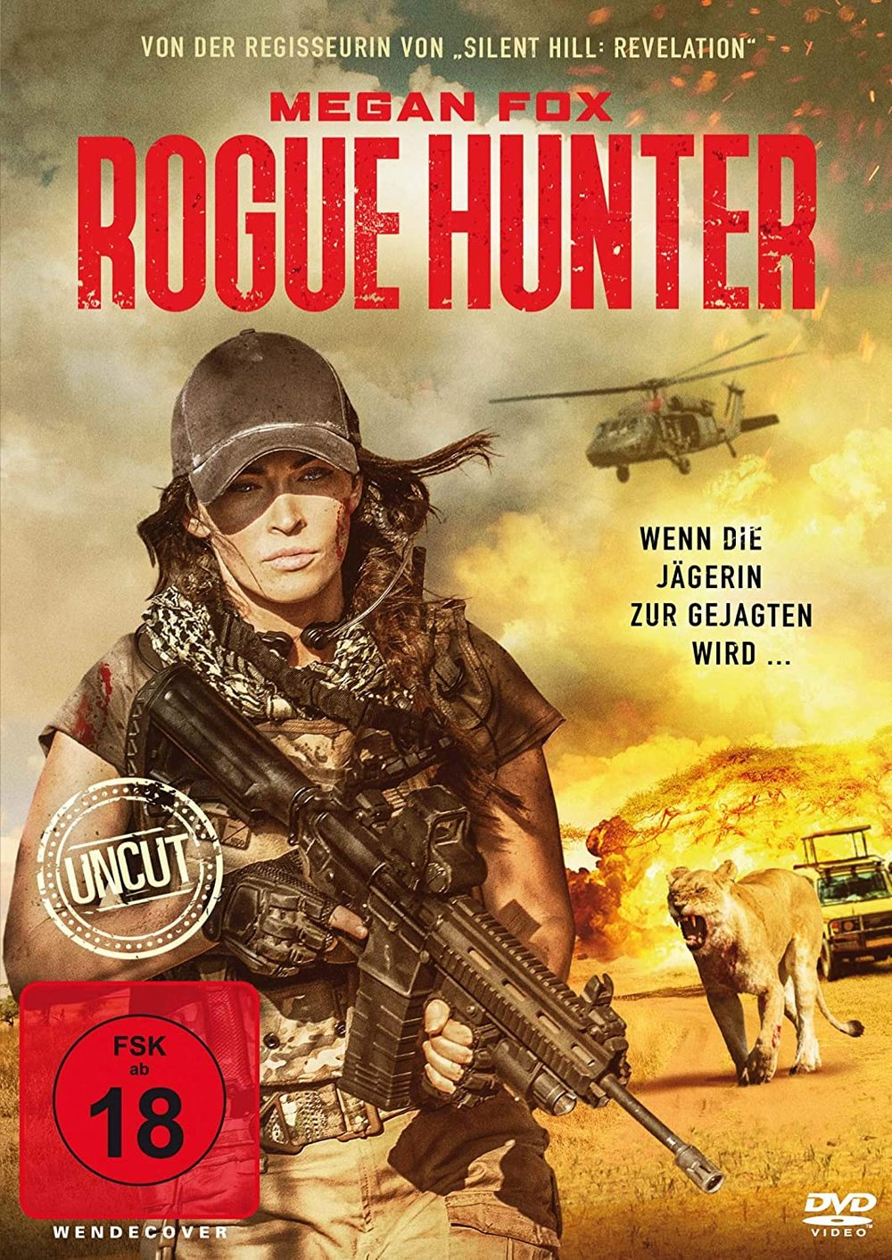 """Megan Fox gegen wilde Tiere: Wir verlosen den Action-Horrorfilm """"Rogue Hunter"""" auf DVD oder BD"""