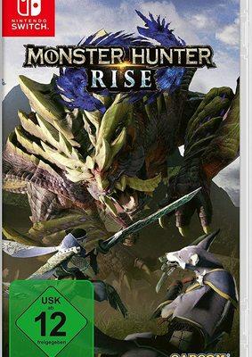 """Die Jagd beginnt: Wir verlosen das Action-Rollenspiel """"Monster Hunter Rise"""" für Nintendo Switch!"""
