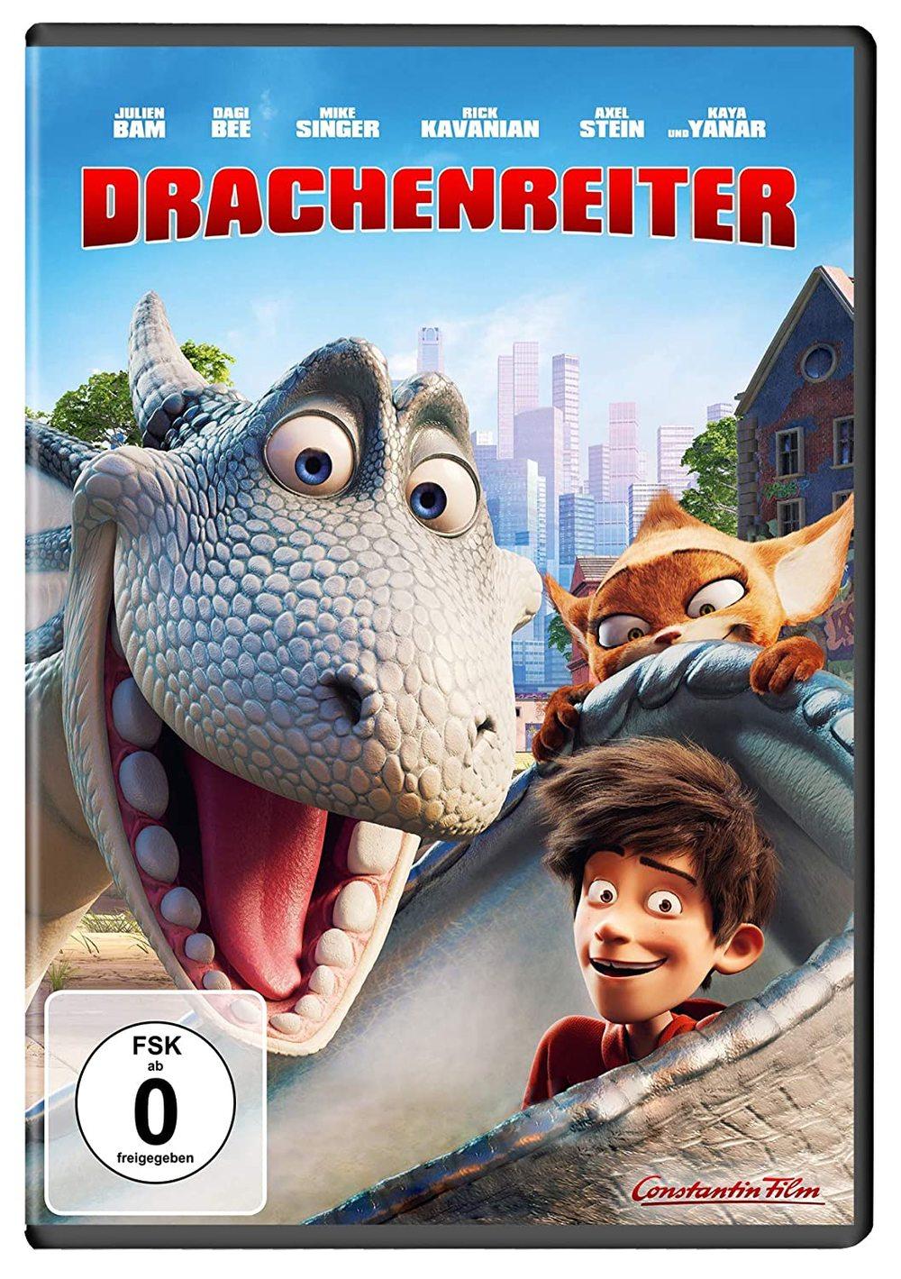 """Schuppige Abenteuer: Wir verlosen die DVD und BD von """"Drachenreiter"""" sowie die Romanvorlage"""