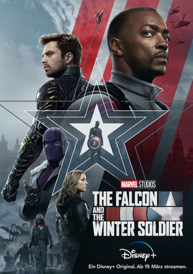 "Zum Start der neuen MCU-Serie ""The Falcon and the Winter Soldier"" auf Disney+ verlosen wir Fan-Pakete"