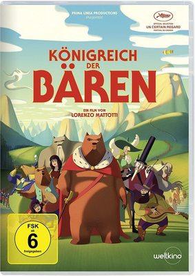 """Animations-Geheimtipp: Wir verlosen """"Königreich der Bären"""" auf DVD"""
