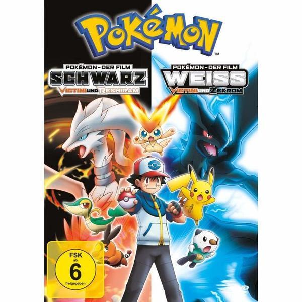 """Wir verlosen """"Pokémon - Der Film: Schwarz - Victini und Reshiram / Weiß - Victini und Zekrom"""" auf DVD und BD"""