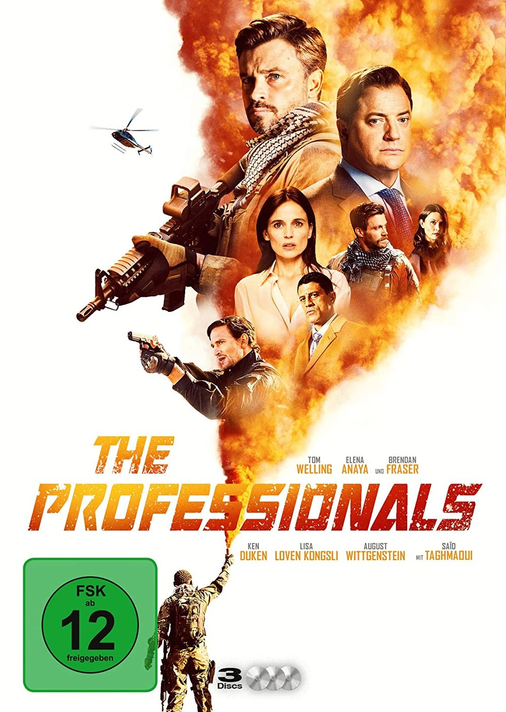 """Wir verlosen die Serie """"The Professionals"""" mit Tom Welling und Brendan Fraser auf DVD"""