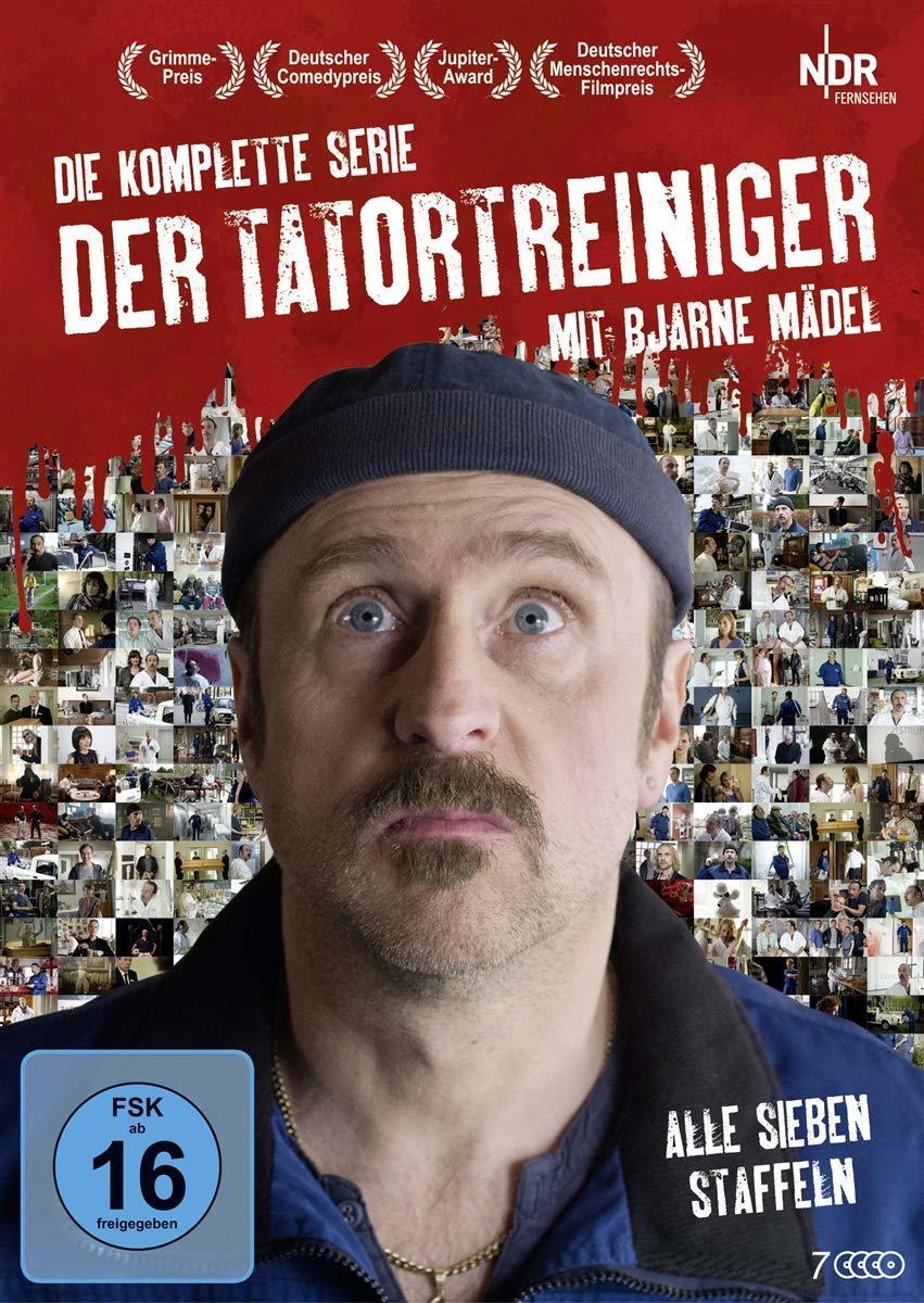 """Gründlich sauber und sehr amüsant: Wir verlosen die komplette Serie """"Der Tatortreiniger"""" auf DVD"""