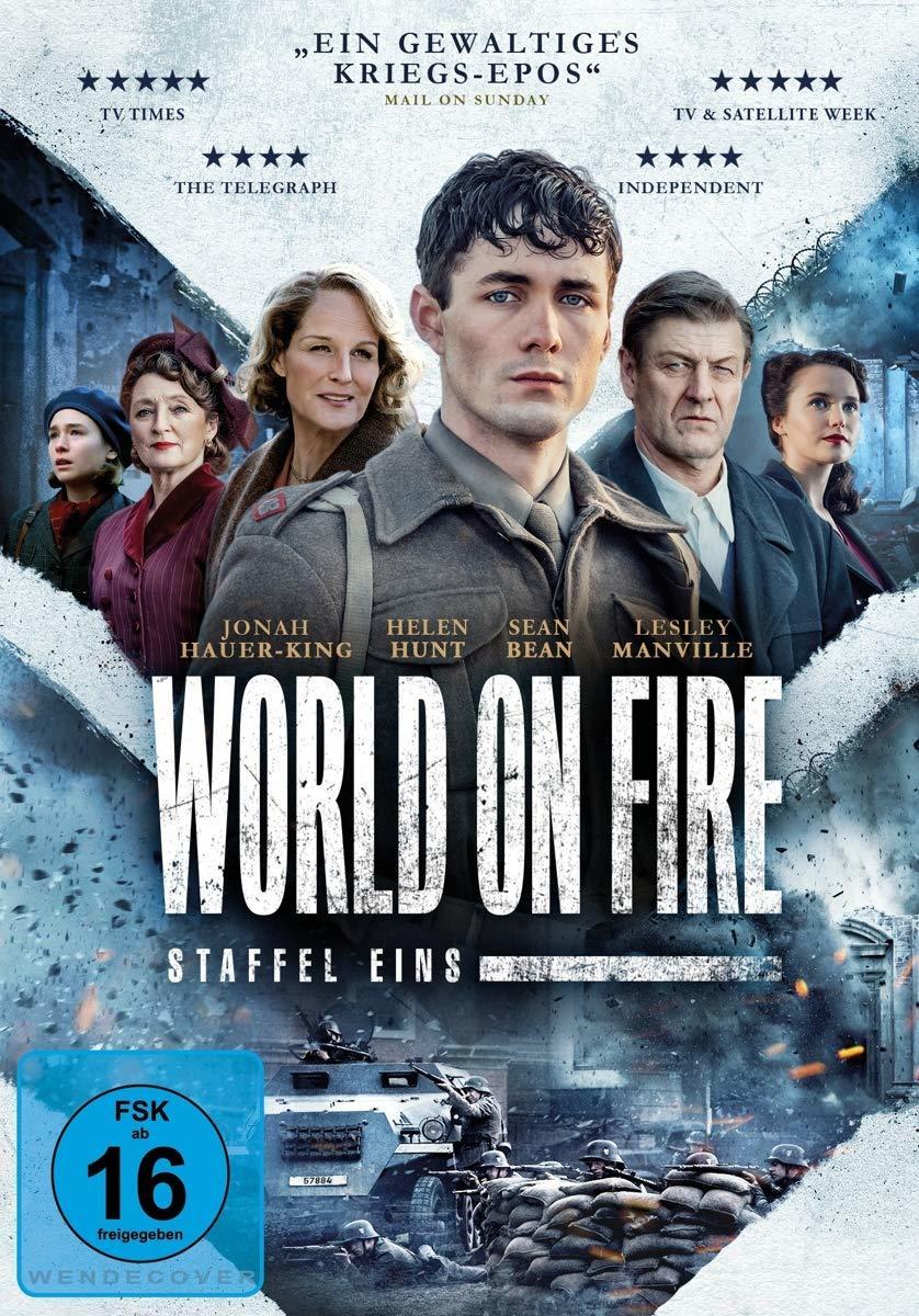 """Wir verlosen die erste Staffel der Kriegsserie """"World on Fire"""" auf DVD oder BD"""