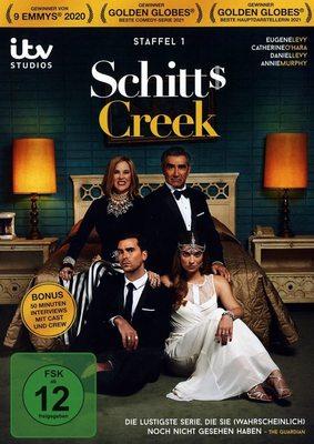 """Preisgekrönte Comedyserie: Wir verlosen Staffel 1 von """"Schitt's Creek"""" auf DVD"""