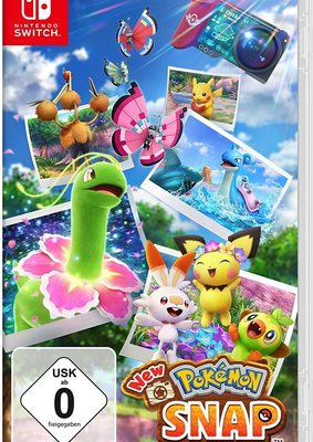 """Der perfekte Taschenmonster-Schnappschuss: Wir verlosen das Videospiel """"New Pokémon Snap"""" für Nintendo Switch!"""