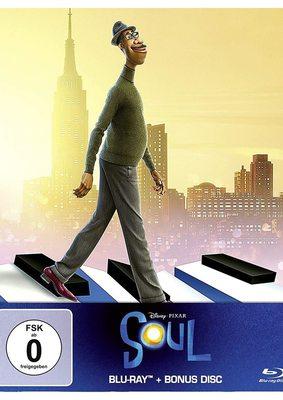 """Wir verlosen das BD-Steelbook zu Disney Pixars """"Soul"""" mitsamt Filmposter"""