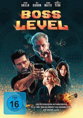 """Wir verlosen die Actionkomödie """"Boss Level"""" mit Frank Grillo und Mel Gibson auf DVD"""