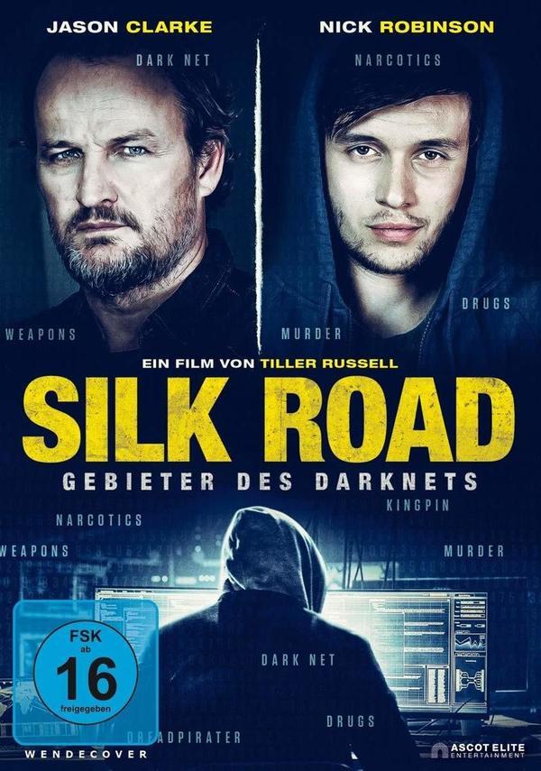 """www.thriller.com - Wir verlosen """"Silk Road - Gebieter des Darknets"""" auf DVD und BD"""
