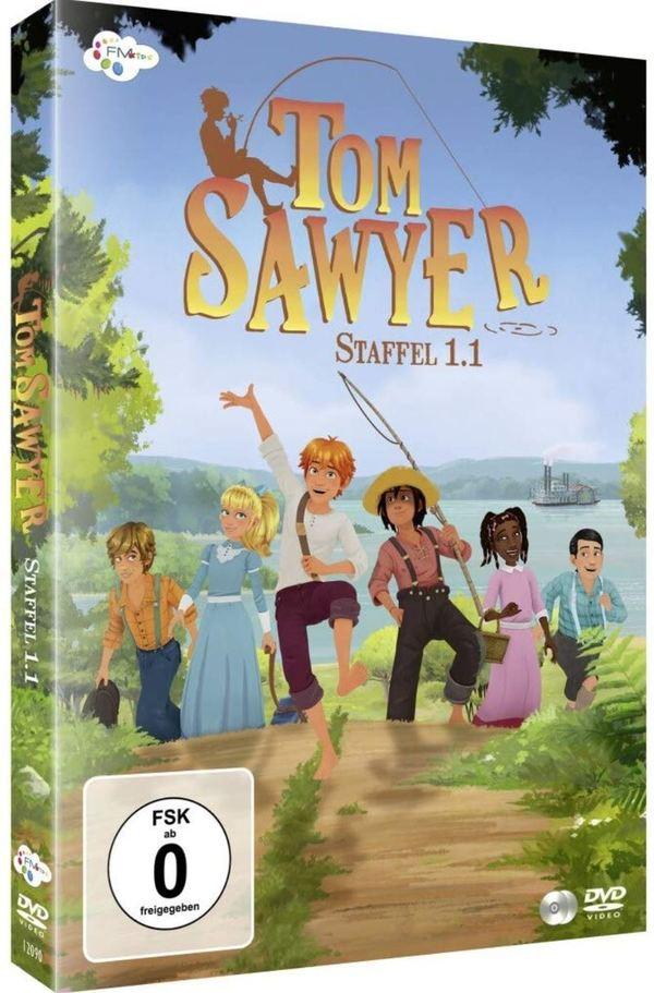"""Wir verlosen Staffel 1.1 von """"Tom Sawyer"""" auf DVD und ein Hörspiel gibt's als Bonus auch noch"""