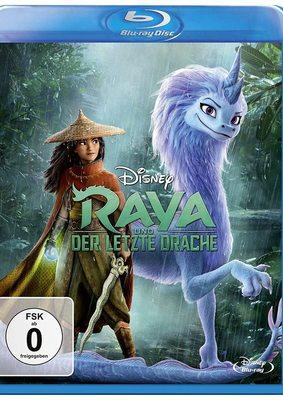 """Ein großes Abenteuer: Wir verlosen die BD mitsamt Poster von Disneys """"Raya und der letzte Drache"""""""
