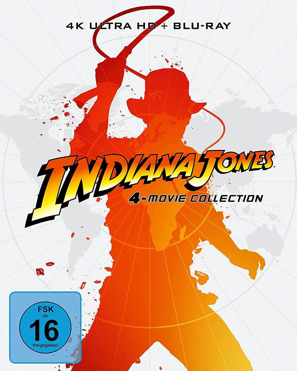 """Held im neuen Glanz: Wir verlosen die """"Indiana Jones""""-Reihe als 4K-Digipak"""