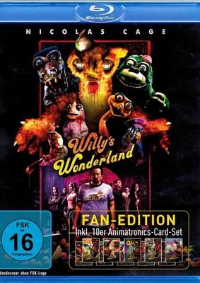 """Nic Cage vs. Animatronics: Wir verlosen den abgedrehten """"Willy's Wonderland"""" als Fan Edition"""