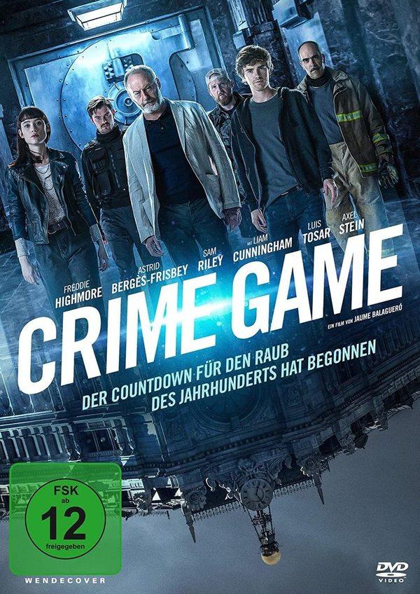 """Der Raub des Jahrhunderts: Wir verlosen den Crime-Thriller """"Crime Game"""" auf DVD oder BD"""