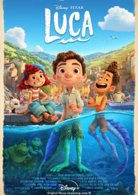 """Der neue Animationsspaß von Pixar: Wir verlosen zum Start von """"Luca"""" auf Disney+ (ab dem 18. Juni 2021) ein tolles Fan-Paket"""