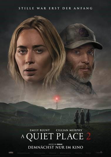 """Endlich im Kino: Wir verlosen zum Kinostart von """"A Quiet Place 2"""" ein schönes Fan-Paket"""