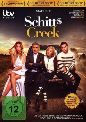 """Willkommen in der Kleinstadt-Hölle: Wir verlosen die 2. Staffel der Comedy-Serie """"Schitt's Creek"""" auf DVD"""