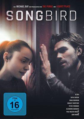 """Pandemie-Thriller, der während der Pandemie gedreht wurde: Wir verlosen """"Songbird"""" auf DVD und BD"""
