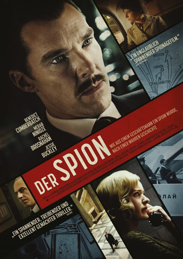 """Spion wider Willen: Wir verlosen zum Kinostart von """"Der Spion"""" mit Benedict Cumberbatch Freikarten"""