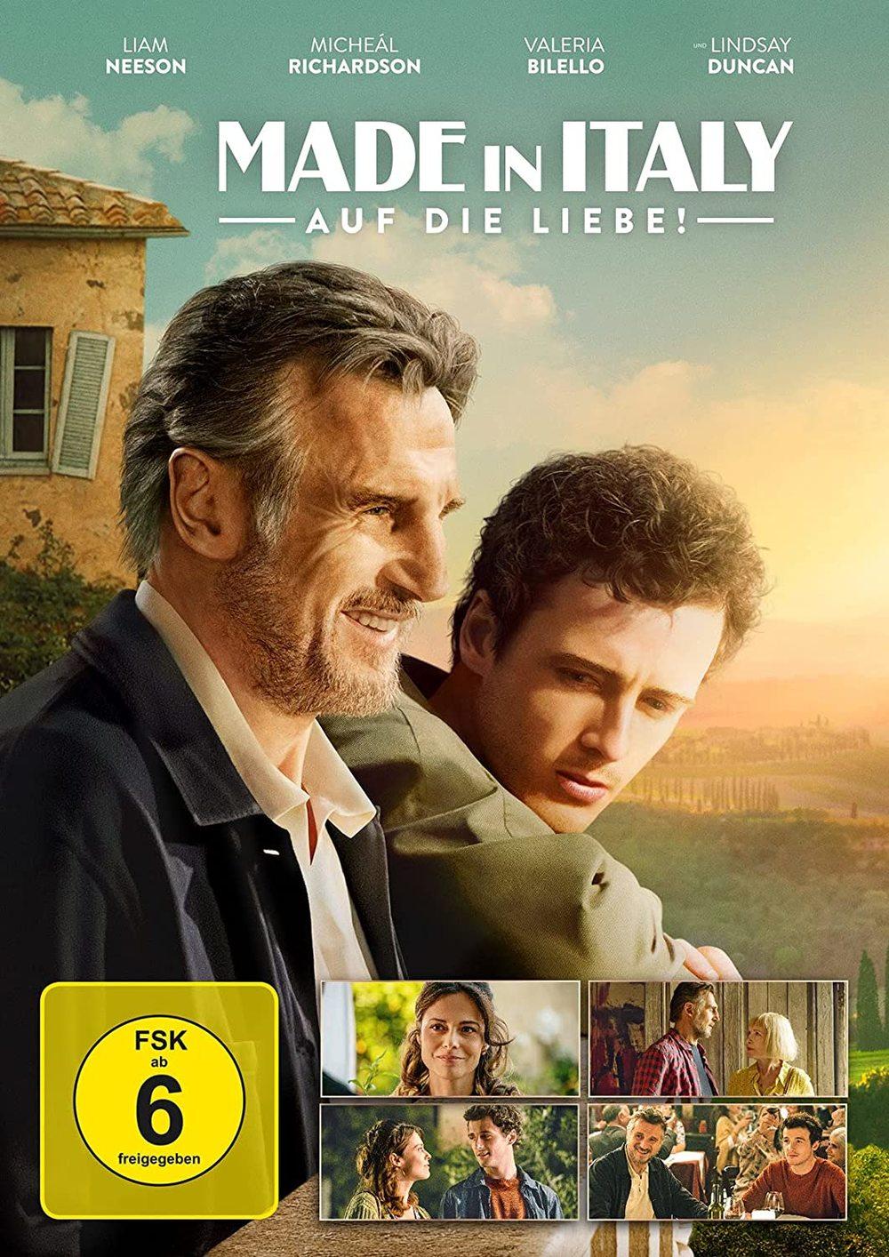 """Bella Italia mit Liam Neeon: Wir verlosen """"Made in Italy - Auf die Liebe"""" auf DVD und BD"""
