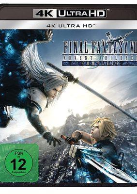 """""""Final Fantasy VII: Advent Children"""": Wir verlosen den Director's Cut des Spektakels als 4K UHD"""