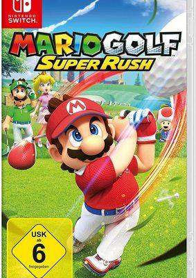 """Macht euch bereit zum Abschlag: Wir verlosen ein Fanpaket zum Videospiel """"Mario Golf: Super Rush"""" für Nintendo Switch!"""