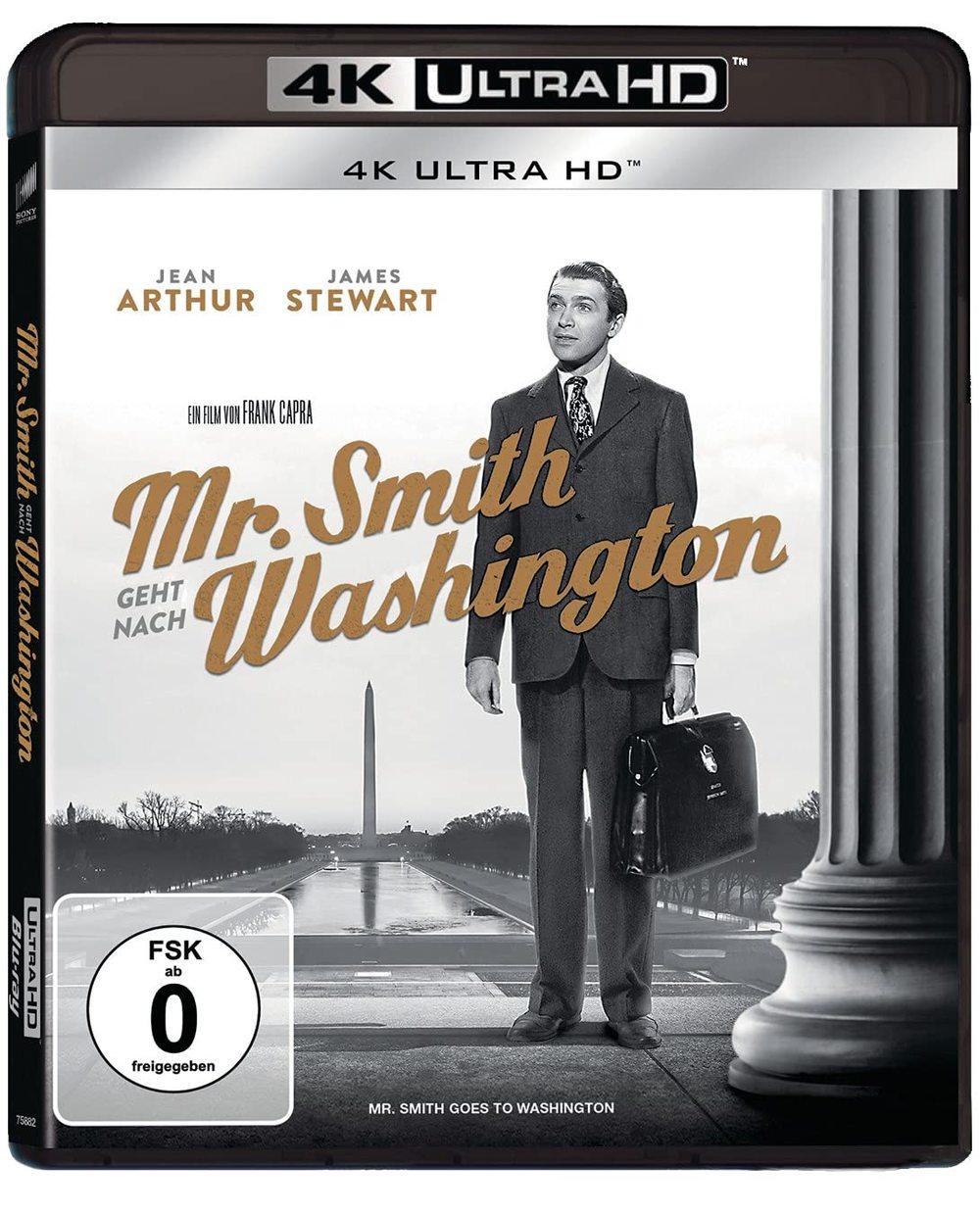 """Zeitloser Klassiker: Wir verlosen """"Mr. Smith geht nach Washington"""" als 4K UHD"""