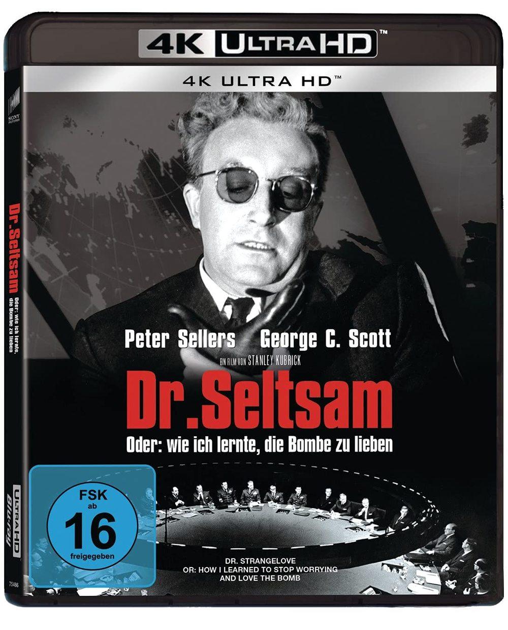 """Langer Titel, famoser Film: Wir verlosen """"Dr. Seltsam, oder wie ich lernte, die Bombe zu lieben"""" auf 4K UHD"""