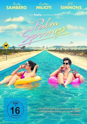 """Und täglich grüßt dieselbe nervige Hochzeitsfeier: Wir verlosen """"Palm Springs"""" auf DVD und BD"""