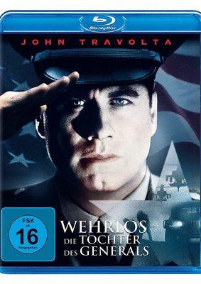 """Wir verlosen den Thriller """"Wehrlos - Die Tochter des Generals"""" mit John Travolta auf BD"""