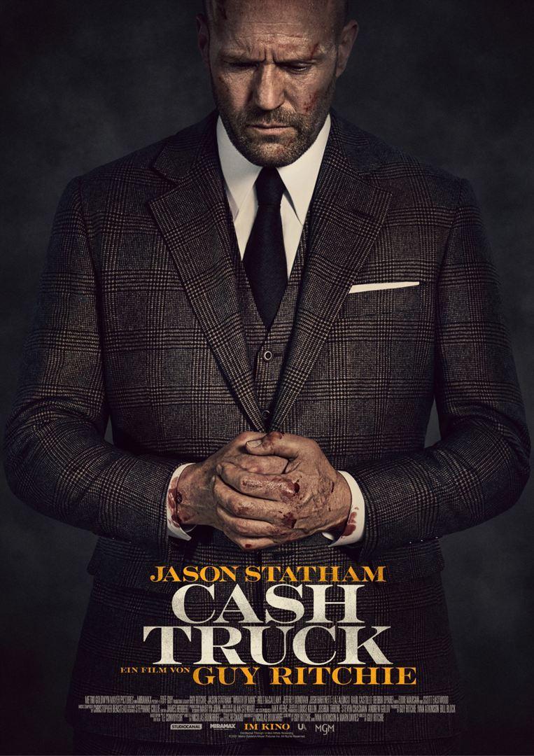 """Jason Statham und Guy Ritchie wiedervereint: Wir verlosen Freikarten zu """"Cash Truck"""""""