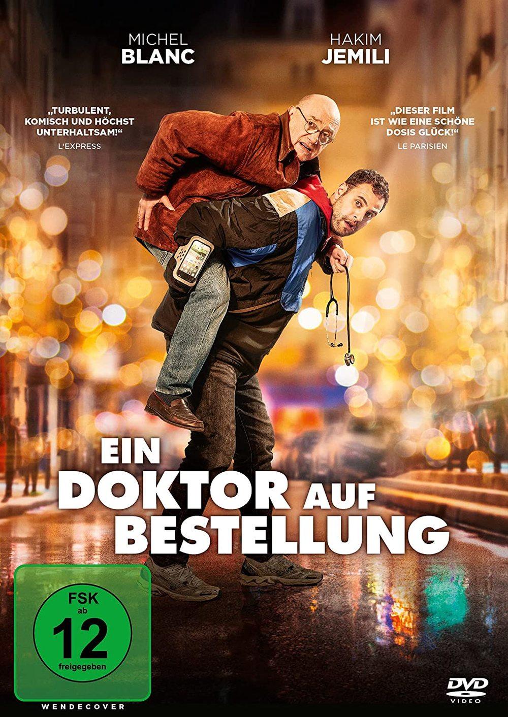 """Huckepack durch Weihnachten: Wir verlosen die französische Komödie """"Ein Doktor auf Bestellung"""" auf DVD oder BD"""
