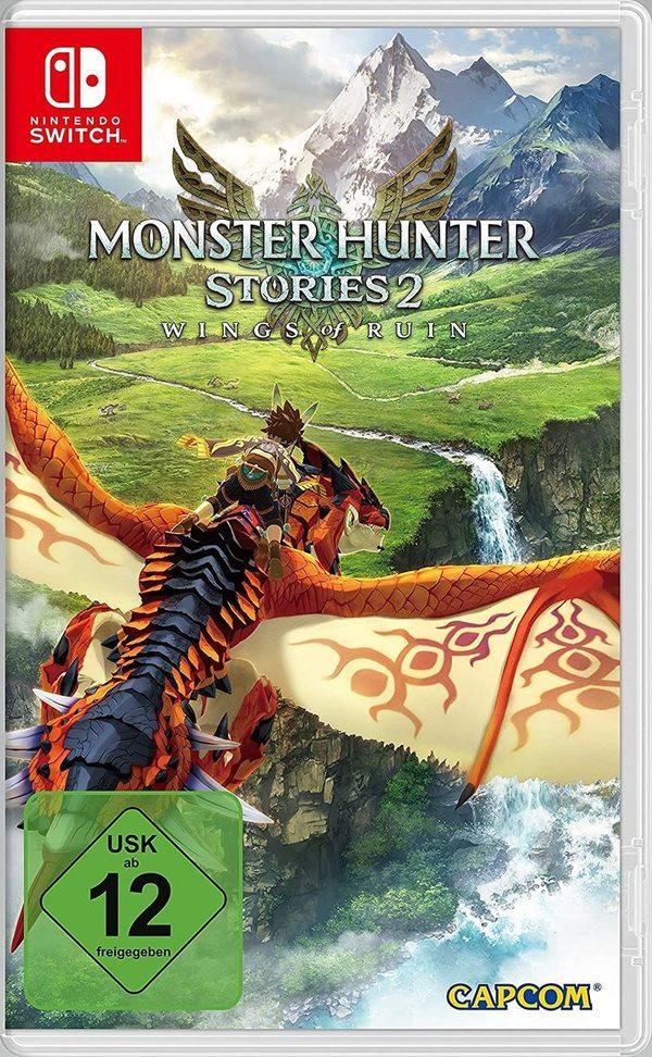 """Reise in eine faszinierende Welt: Wir verlosen zweimal das Videospiel """"Monster Hunter Stories 2: Wings of Ruin"""" für Nintendo Switch!"""