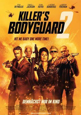 """Ryan Reynolds und Samuel L. Jackson streiten wieder: Wir verlosen zum Start von """"Killer's Bodyguard 2"""" Kinokarten"""