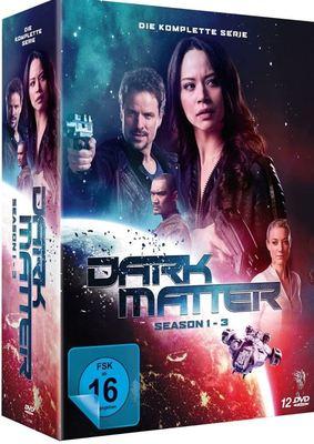 """Finsternis in den weiten des Alls: Wir verlosen die komplette Serie """"Dark Matter"""" auf DVD"""