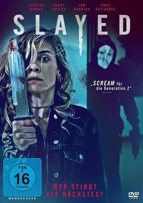 """Wer stirbt als nächstes: Wir verlosen den Mystery-Horror """"Slayed - Wer stirbt als nächstes?"""" auf DVD oder BD"""