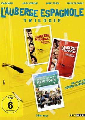 """Das bunte Leben von Xavier: Wir verlosen die """"L'Auberge Trilogie"""" auf DVD oder BD"""