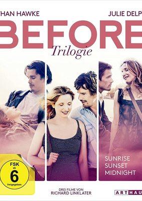 """Liebe im Wandel der Zeit: Wir verlosen die """"Before Trilogie"""" auf DVD oder BD"""