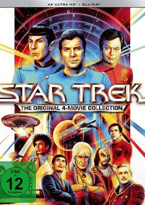 """Zum Star Trek Day: Wir verlosen die """"Star Trek I-IV"""" - 4-Movie Collection in 4K"""
