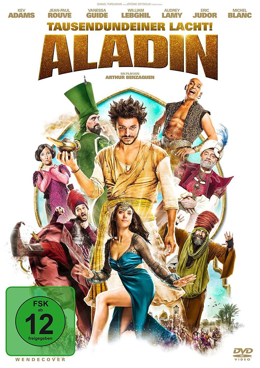 """Märchenhafter Klamauk: Wir verlosen die Abenteuerkomödie """"Aladin - Tausendundeiner lacht!"""" auf DVD"""