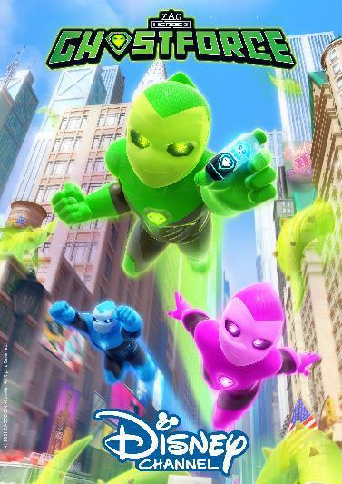 """Eine neue Generation von Superhelden: Wir verlosen zum Start der neuen Serie """"Ghostforce"""" im Disney Channel tolle Überraschungspakete"""