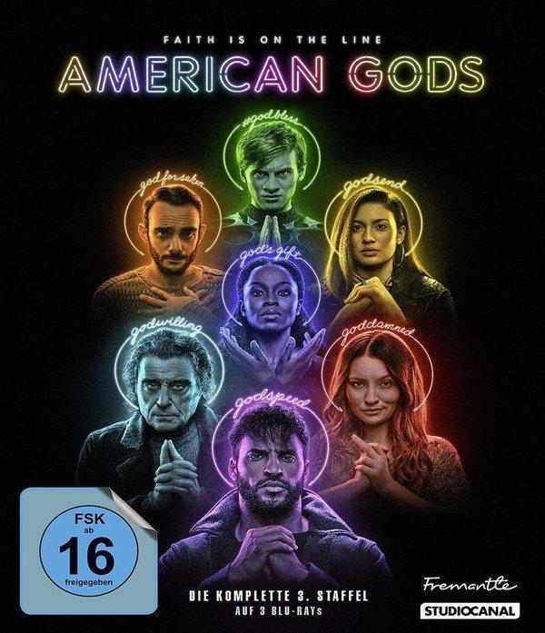"""Götterdämmerung: Wir verlosen zum Start der dritten Staffel """"American Gods"""" einmal die 3. Staffel auf BD sowie die Collection"""