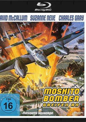"""Todesflieger gegen Raketen: Wir verlosen den Kriegsfilm """"Moskito-Bomber greifen an"""" (Mosquito Squadron) auf BD"""