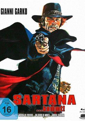 """Der Scharfschütze Sartana: Wir verlosen den Western-Klassiker """"Sartana kommt"""" auf BD"""