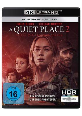 """Pssssst: Wir verlosen die Horror-Fortsetzung """"A Quiet Place 2"""" als  limitiertes Blu-ray Steelbook und als 4k UHD Steelbook"""