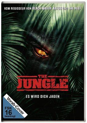 """Tödliche Safari: Wir verlosen den Tier-Horror """"The Jungle - Es wird dich jagen"""" auf DVD oder BD"""