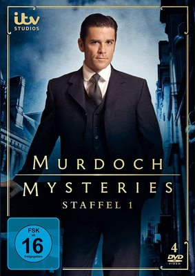 """Mit moderner Forensik gegen das Verbrechen: Wir verlosen die 1. Staffel der Krimi-Serie """"Murdoch Mysteries"""" auf DVD"""